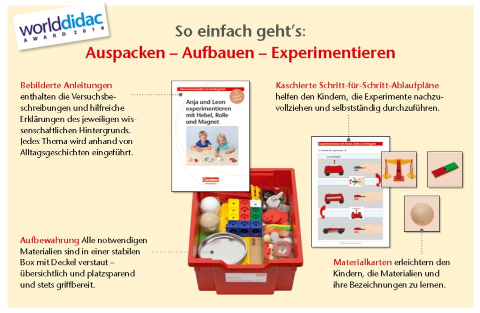 Kindergarten Experimentierboxen
