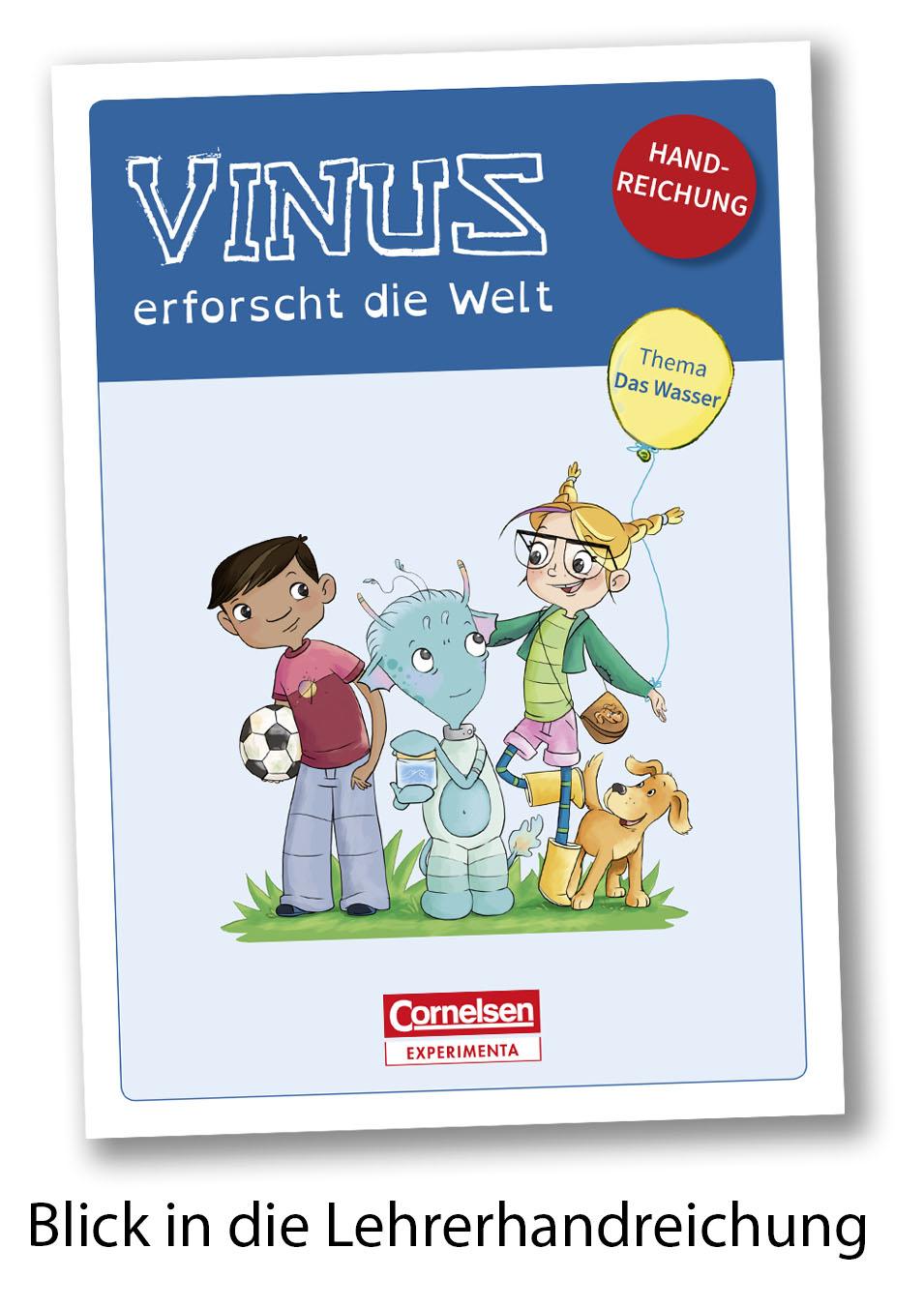 Lehrerhandreichung Wasser Blick ins Buch